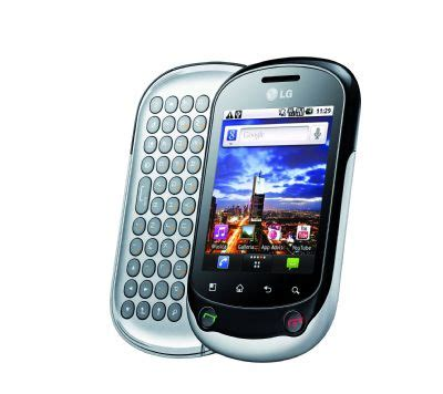 Cyrus Chat Qwerty Touch Hspa lg ufficializza il nuovo optimus chat con android e