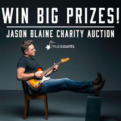 jason blaine charity auction hot country 103.5