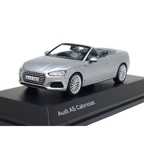 Audi A5 Modellauto by Audi A5 Cabriolet 1 43 Florettsilber 5011705331 Modellauto