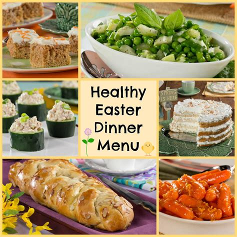 12 recipes for a healthy easter dinner menu