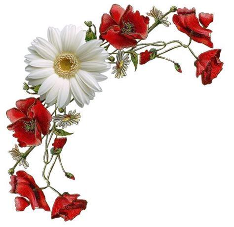 imagenes vintage flores esquina de flores cenefas esquinas recuadros y coronas