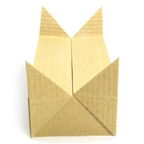 how to make an origami boat stand page 9