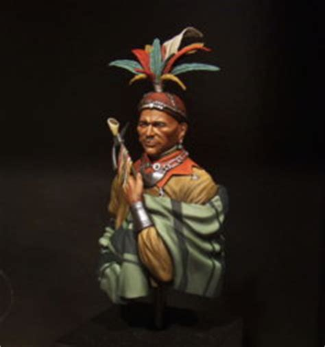 Chief Corn Planter by Completed Chief Cornplanter Planetfigure Miniatures