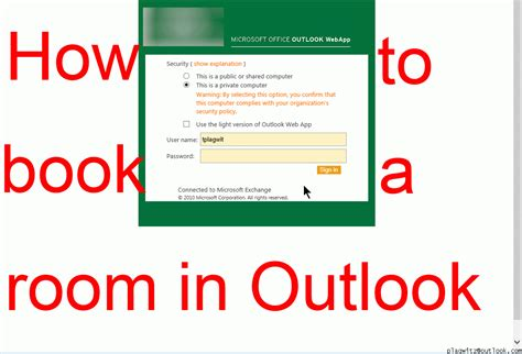 outlook book a room ms outlook work space