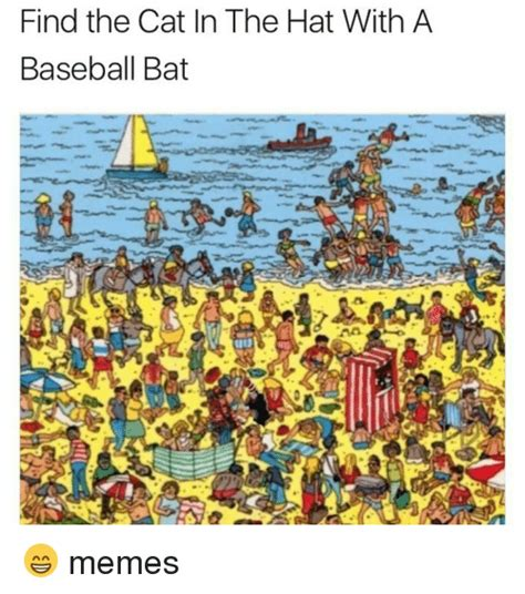 Squidward Baseball Bat Meme - baseball hat wearing kitten meme hat best of the funny meme