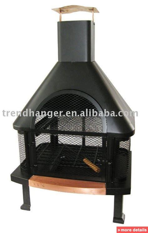 chiminea roof copper bbq bizrice