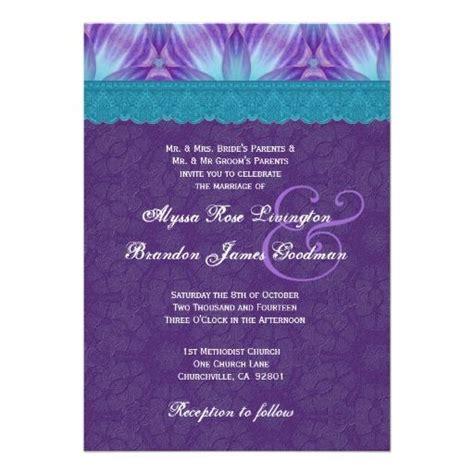 royal purple wedding invitations 1000 images about wedding invitations on