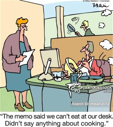 cooking at your desk at desk and pictures from