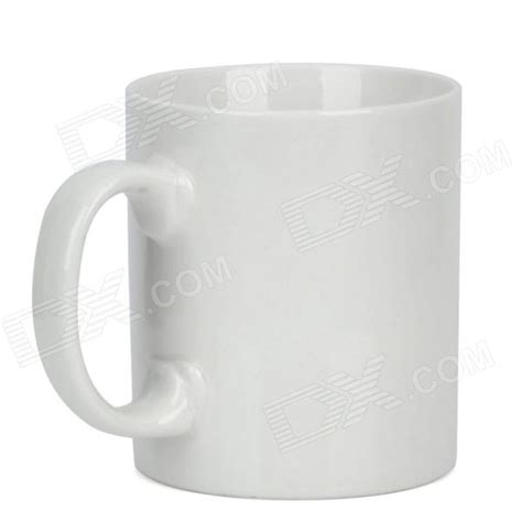 מוצר magical wake up color changing ceramic coffee cup white black 250ml