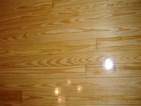 Pine Wood Floor Refinished in Ellijay, GA  Gilmer County