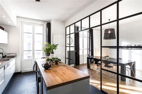 cuisine de loft travaux de r 233 novation de cuisine dans un loft parisien
