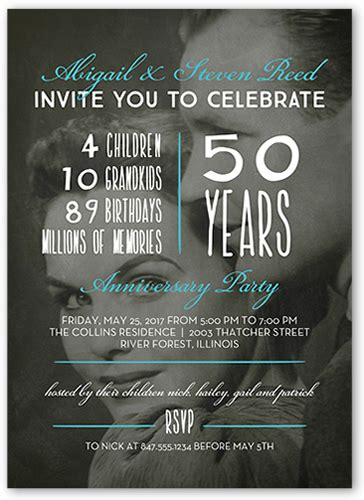 Wedding Anniversary Hotel Ideas by 50th Wedding Anniversary Ideas Shutterfly