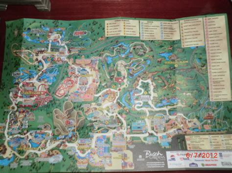 Directions To Busch Gardens Williamsburg by Tpr S Evolving Park Index Page 62 Theme Park Review