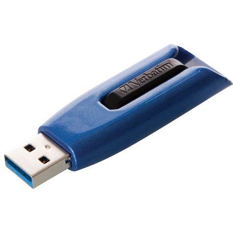 drive v3 verbatim 128gb store n go v3 max usb 3 0 drive 49808 b h