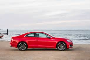 all new audi a5 coupe and sportback models in shape for uk