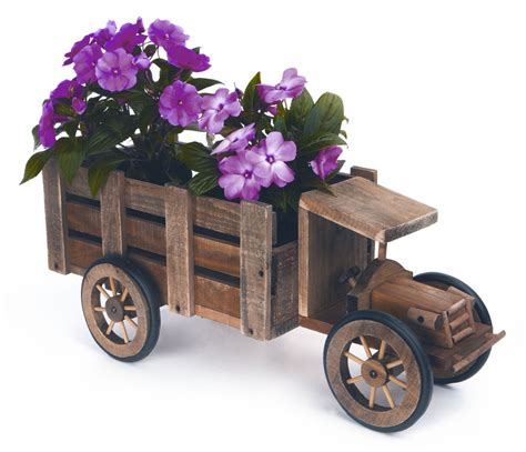 wooden wagon planter wooden wagon planter 187 home decorations insight