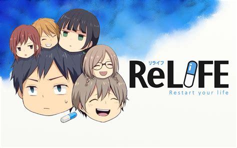 anime relife relife anime desktop wallpaper anime pinterest anime