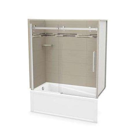 bathtub shower combo home depot utile by maax bathtub shower combos bathtubs the