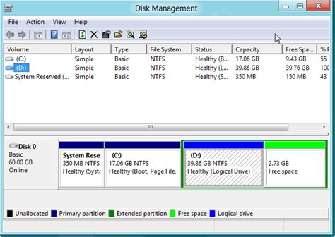 format hard drive computer management how to format hard drive partition in windows 8 with free
