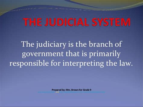Judicial System Search The Judicial System