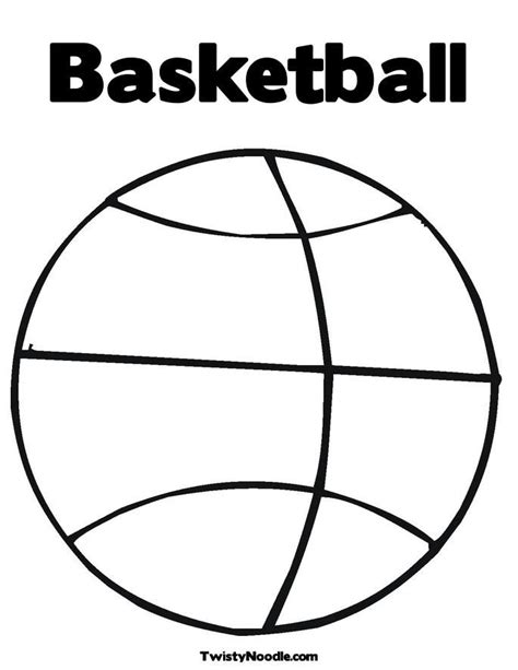 Printable Sports Coloring Pages Coloring Home