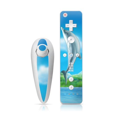 Skin For Your Wii by Dolphins Wii Nunchuk Remote Skin Istyles
