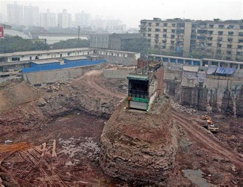 nail house china s nail houses picture stubborn as a nail china residents who refuse to move