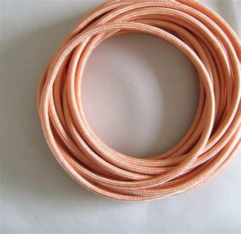 fabric covered l wire wire by meter copper fabric cloth covered wire electrical