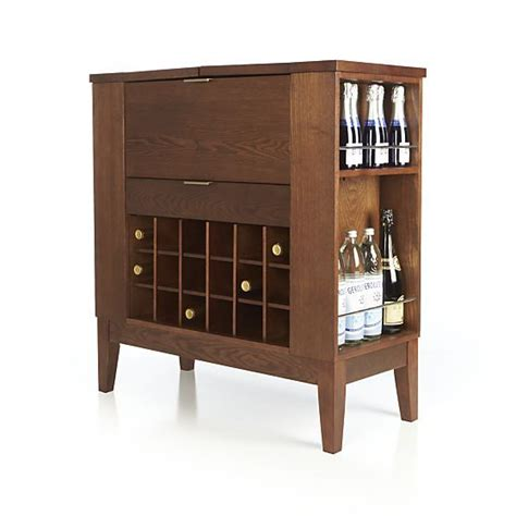 Crate And Barrel Liquor Cabinet by Spirits Bourbon Cabinet