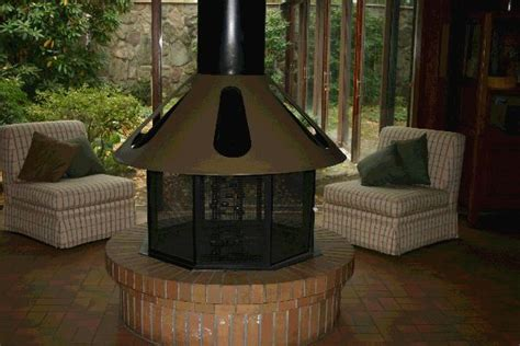 Circular Outdoor Fireplace by Fireplace
