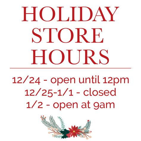 gygi s holiday hours