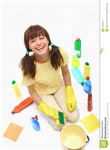 Floor Cleaning Services by A Happy House Cleaning Woman Stock Images Image 14955014