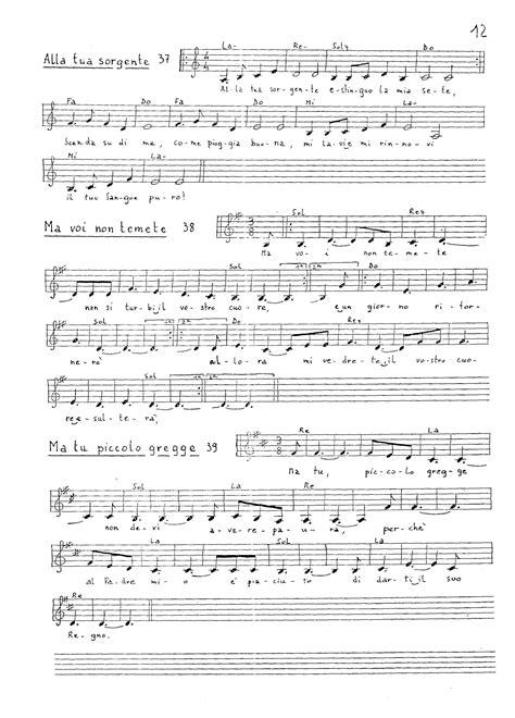 brivido felino testo partiture