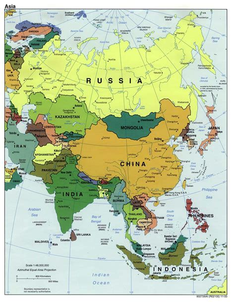 political asia map ap history mid 20th century 5 asia