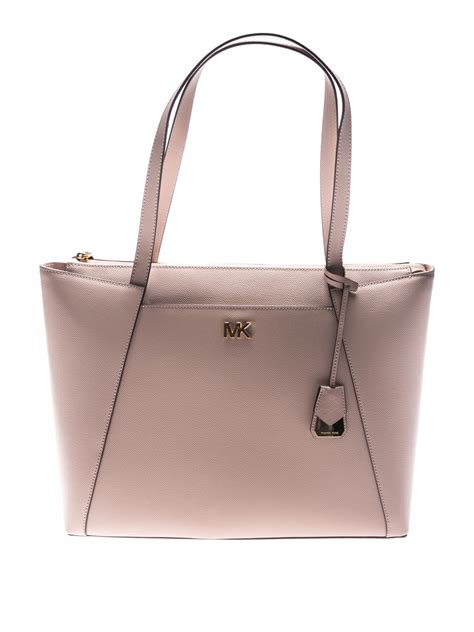 maddie leather shopping bag by michael kors totes bags ikrix