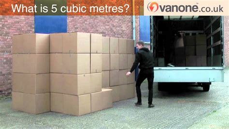 4 meters to what 5 cubic metres look like inside the removal