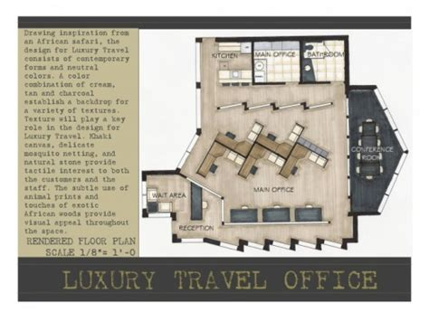 luxury travel agency crystal k hall interior design
