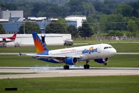 allegiant airs remedy  high fuel prices buy  efficient jets skift
