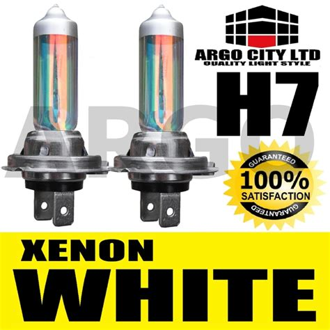 lada h7 12v 55w mega white xenon h7 12v 55w headlight bulbs pack ebay