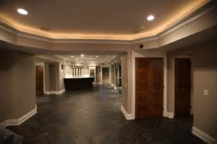 Faux Tray Ceiling With Molding Wyckoff Nj Basement Living