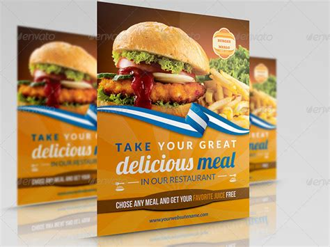 Restaurant Flyers Templates 20 creative and premium restaurant flyers