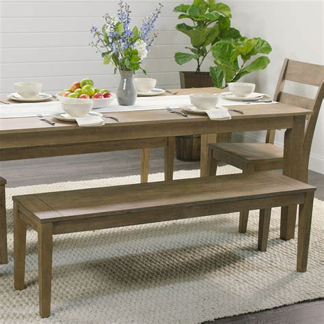 distressed wood harrow dining table world market
