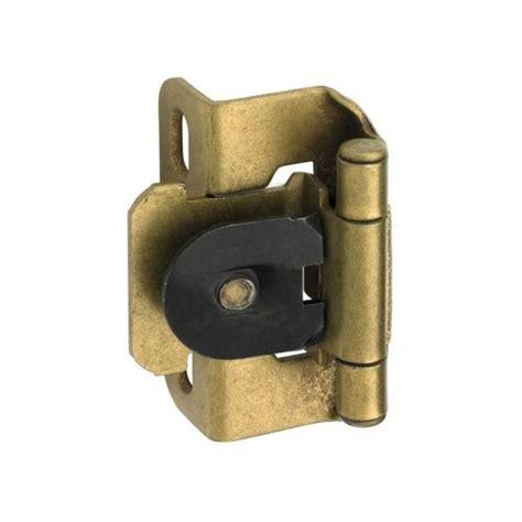 amerock cabinet hinge parts amerock single demountable 1 2 quot overlay hinge burnished