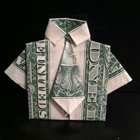 Origami Clothes Folding - money origami 183 a of origami clothing 183