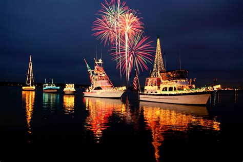 christmas boat parade bradenton beach florida united
