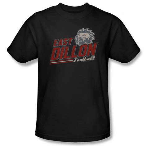 friday night lights apparel friday night lights shirt east dillon black t shirt