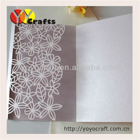 Papercraft Wedding - popular professional invitation buy cheap professional