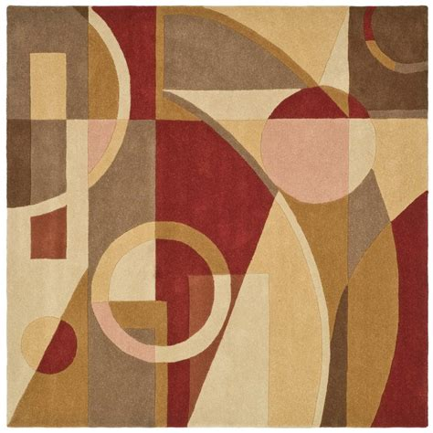 Safavieh Rodeo Drive Rug by Safavieh Rodeo Drive Beige Multi 8 Ft X 8 Ft Square Area