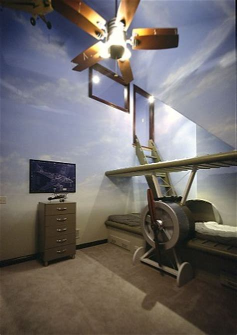 airplane with beds airplane bed home design ideas pictures remodel and decor