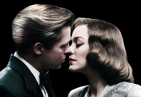 Allied Search New Allied Poster And Spot With Brad Pitt Marion Cotillard